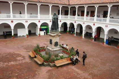 Claustro de la Universidad del Rosario. (Colprensa)