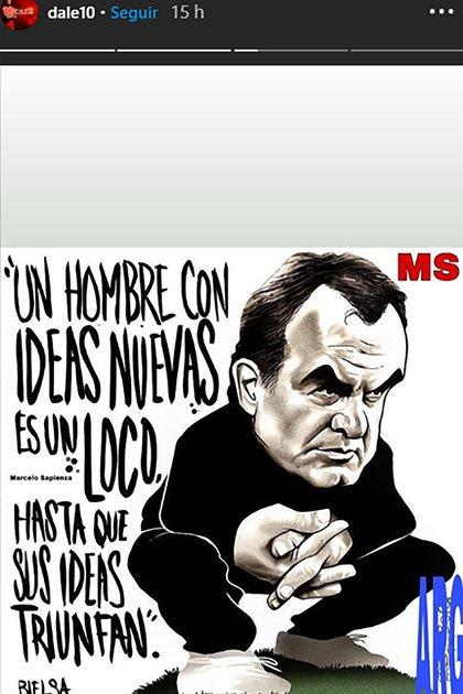 El mensaje de Andrés D'Alessandro para Marcelo Bielsa