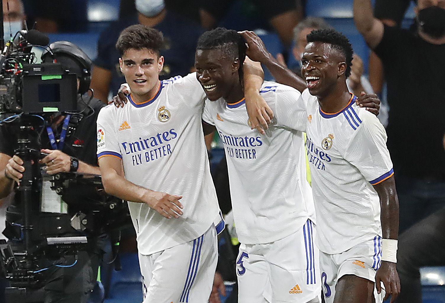 El francés debutó con la camiseta del Real Madrid en el partido ante el Celta de Vigo e hizo un gol (REUTERS/Susana Vera)
