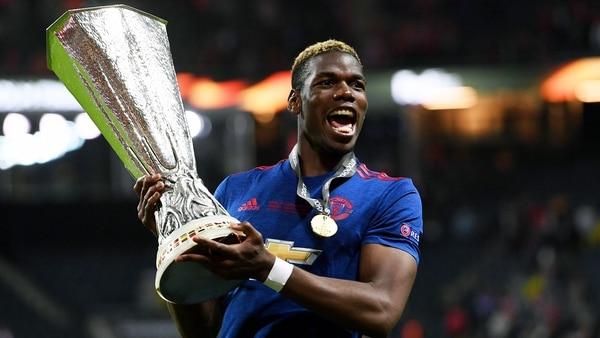 Pogba ha ganado la Europa League con el Manchester United (EFE)
