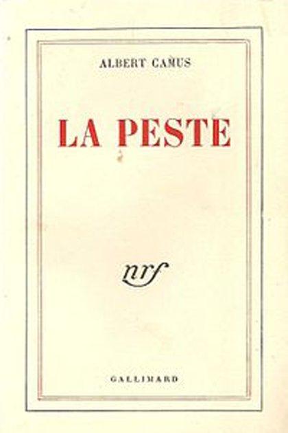"""Primer edición (1947) de """"La peste"""" de Albert Camus"""