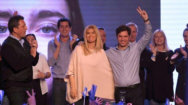 Axel Kicillofy Verónica Magario, la fórmula del Frente de Todos en la provincia de Buenos Aires