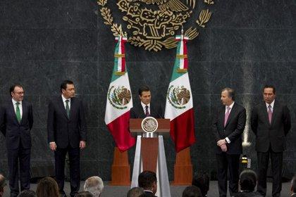 Gabinete Enrique Peña Nieto (Foto: Cuartoscuro)