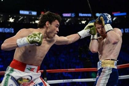 La rivalidad entre estos dos púgiles ha crecido desde hace varios años. (Foto: Joe Camporeale-USA TODAY Sports vía Reuters)