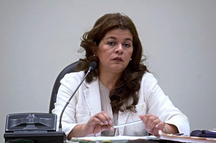 La jueza Carol Padilla