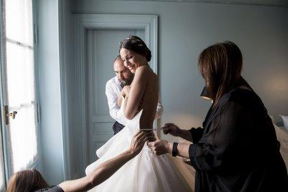 La intimidad del casamiento de Pampita (Fotos: Estudio Ruiz y Russo)