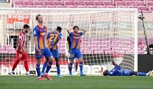 Dembélé erró el gol del campeonato: la jugada que le hubiese dado el triunfo al Barcelona sobre el Atlético Madrid