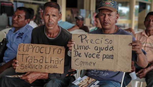 Resultado de imagen para inmigrantes venezolanos brasil