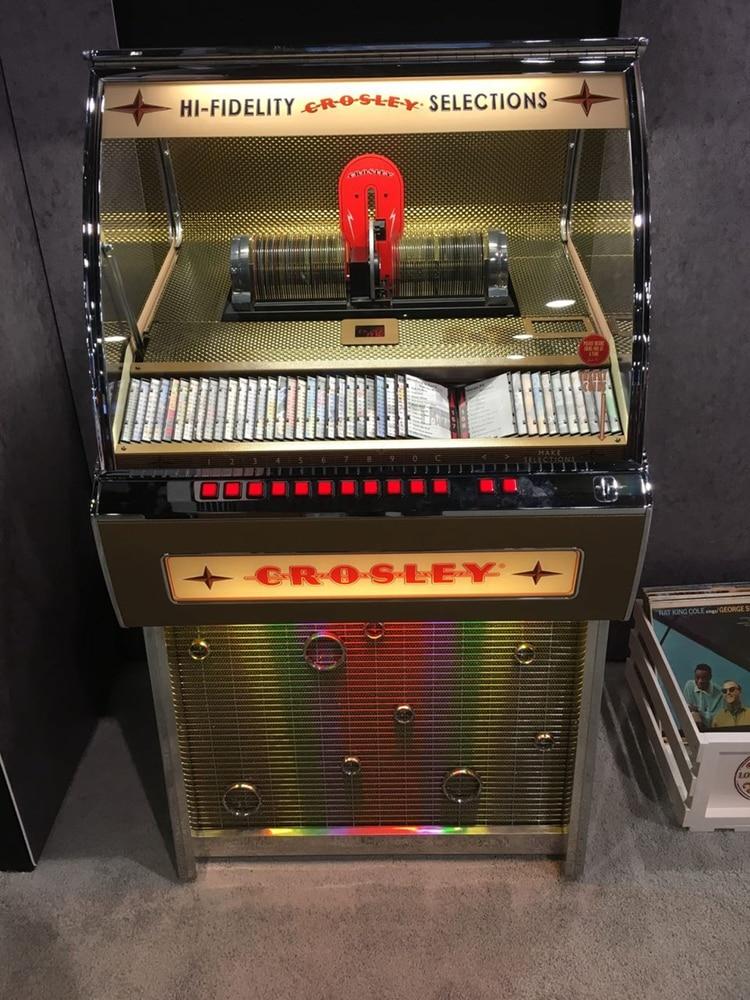 Otra de las rocolas Crosley