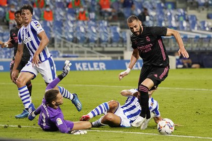 El Real Madrid no pudo ante la Real Sociedad en su debut en La Liga -  Infobae