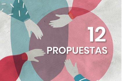 La agenda que propusieron consta de 12 propuestas concretas.