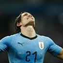 Edinson Cavani no será titular contra Francia