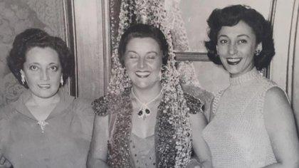 En su extensa carrera, Hilda Bernard compartió elenco con las mejores actrices