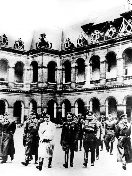 Adolf Hitler en Paris, año 1940 (Foto: The Grosby Group)