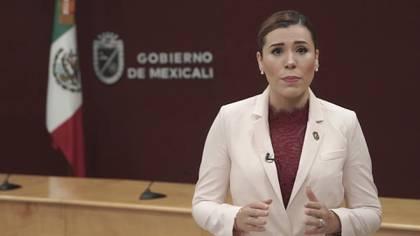 Marina Del Pilar, presidenta municipal de Baja California (Foto: Captura de Pantalla)