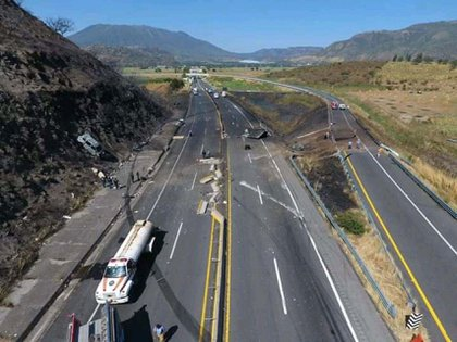 The cause of the accident was determined (PHOTO: Secretariat of Citizen Security of Nayarit / CUARTOSCURO)