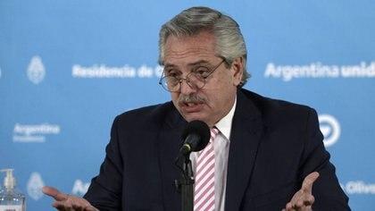 El presidente Alberto Fernández anunció el decreto el último viernes (Juan Mabromata/Pool via REUTERS)