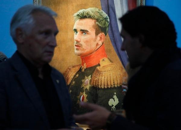 Antoine Griezmann, otra de las figuras de la actualidad (AP Photo/Dmitri Lovetsky, File)