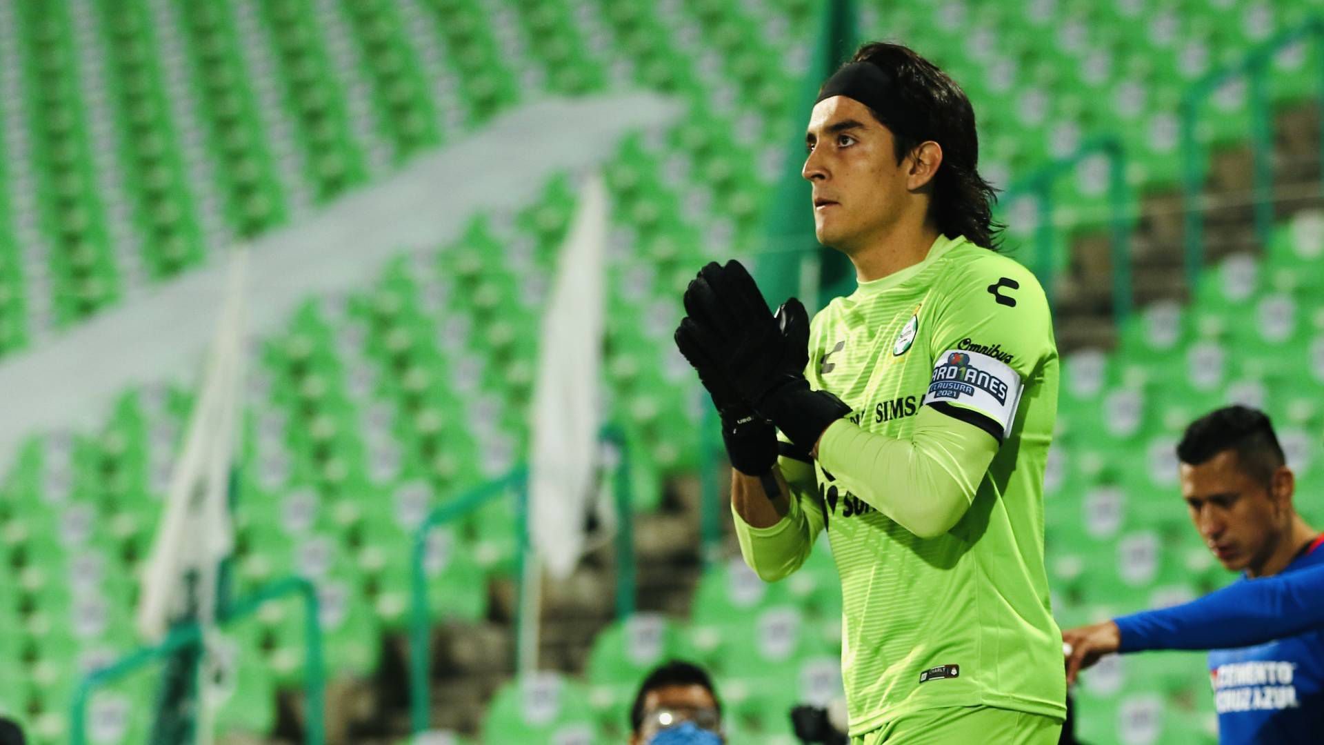 Carlos Acevedo (Foto: Cortesía/ Club Santos)