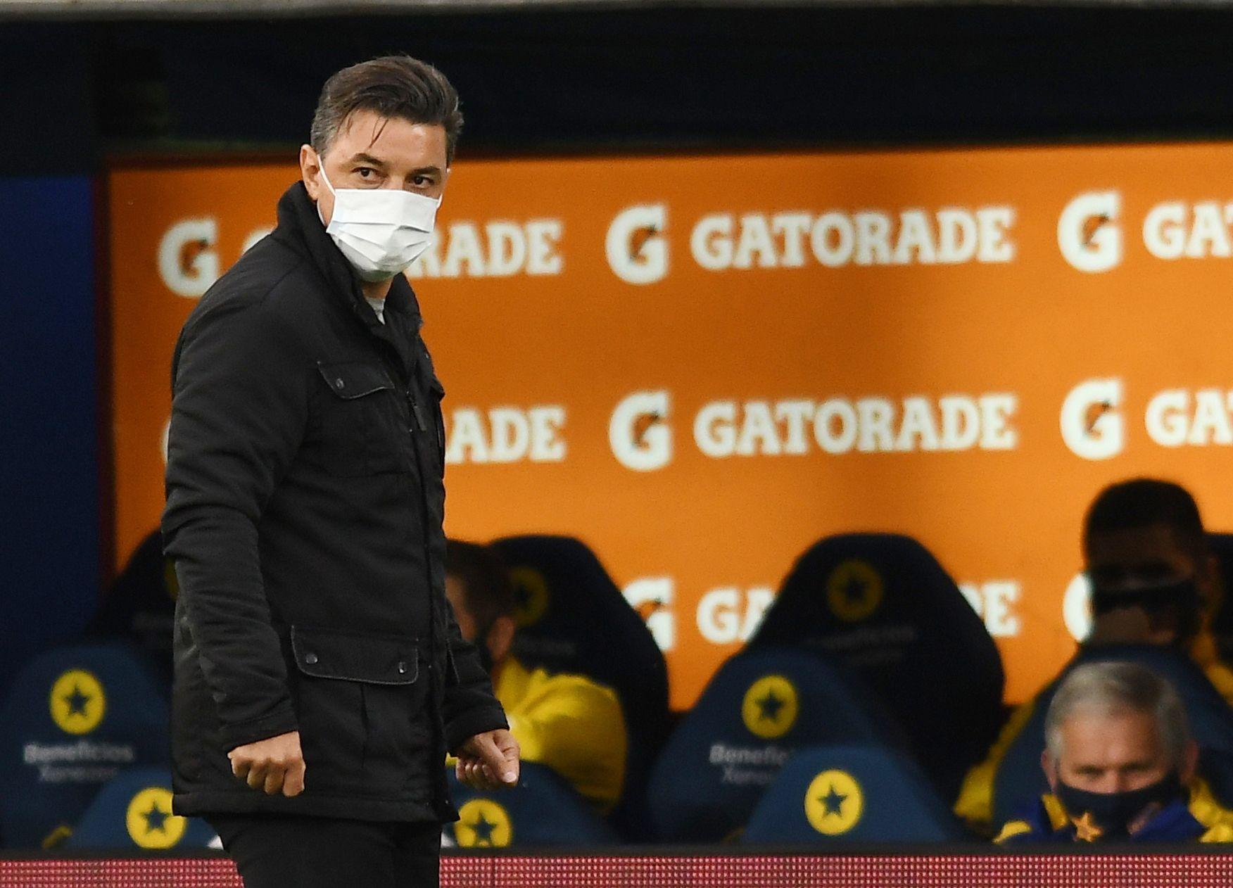 Marcelo Gallardo deberá armar un rompecabezas para el partido contra Independiente Santa Fe por Copa Libertadores (REUTERS/Marcelo Endelli)