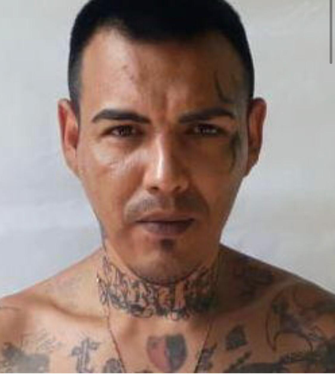 """Claudio Javier Mansilla, """"El Morocho"""", figura central de la fuga."""