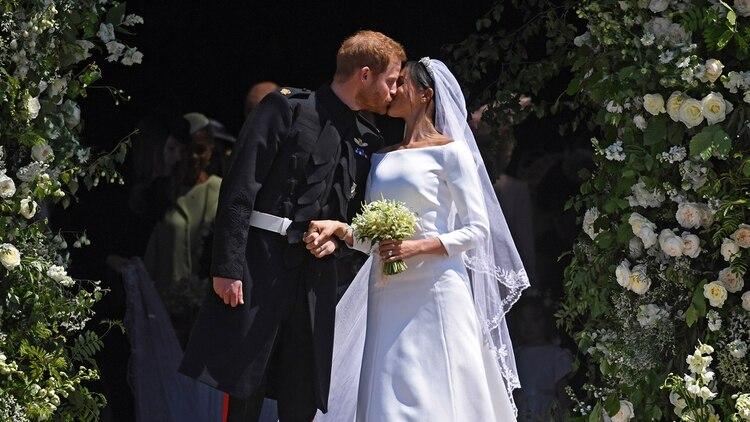Los acaudalados gastos en la boda real de Harry y Meghan fueron criticados por sector británico (Foto: EFE)