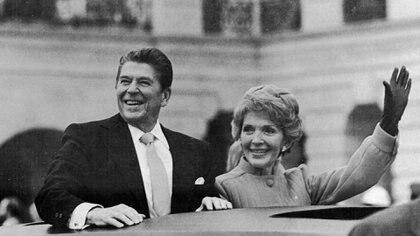 Ronald Reagan tenía 69 años en su primera juramentación, en 1981 (George Tames/The New York Times)