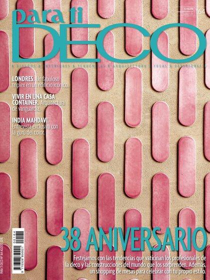 Para Ti Deco celebra su 38° aniversario con una ediciónespecial.