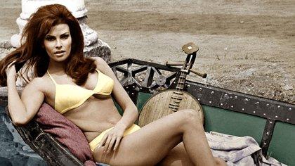 Raquel Welch nació el 5 de septiembre de 1940 en Chicago (Shutterstock)