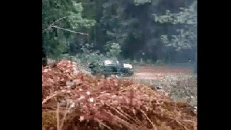 Imagen del momento en que comenzó el ataque armado. (Foto: Especial)