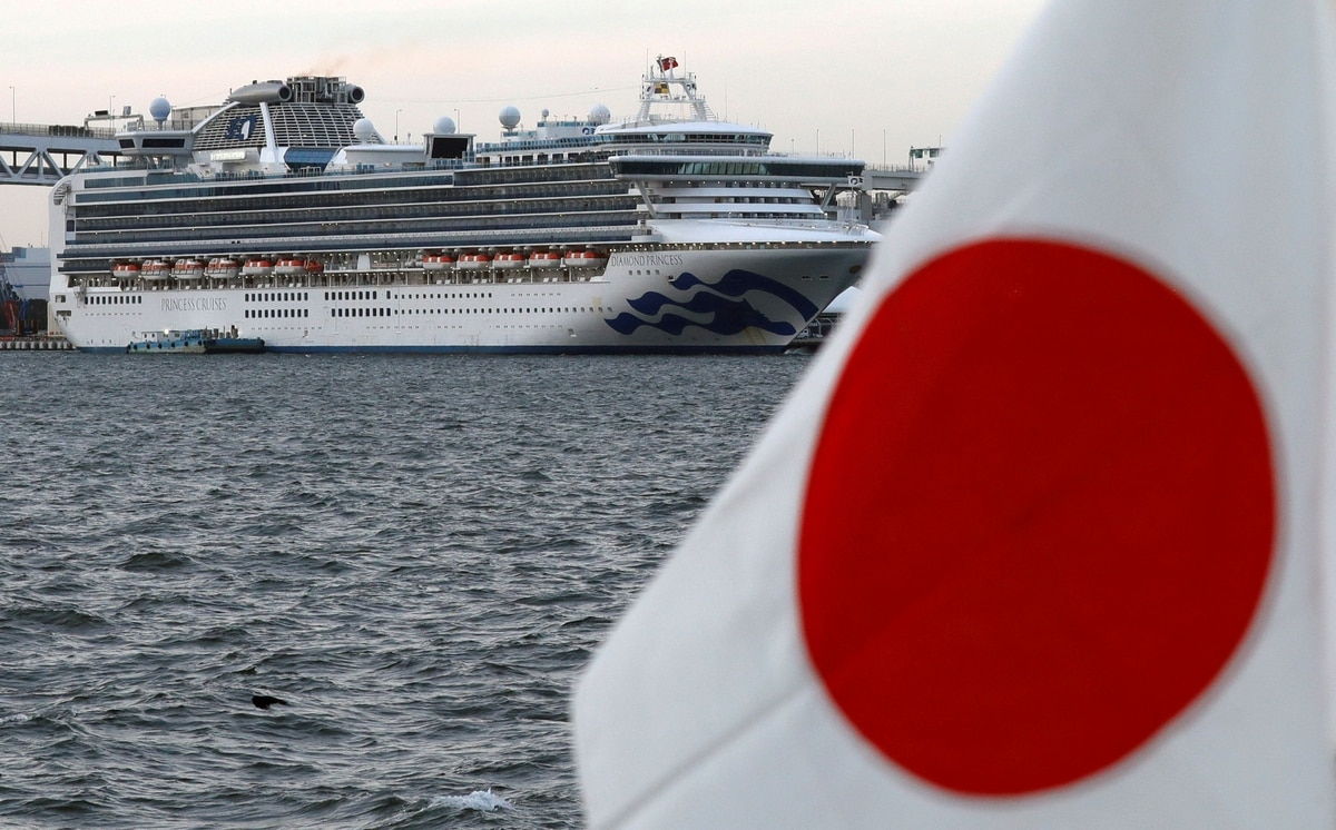 Japón elevó a 355 los casos de coronavirus a bordo del crucero en el puerto de Yokohama