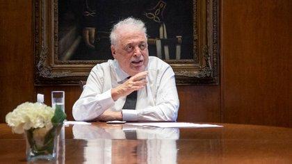 El ex ministro de Salud, Ginés González García