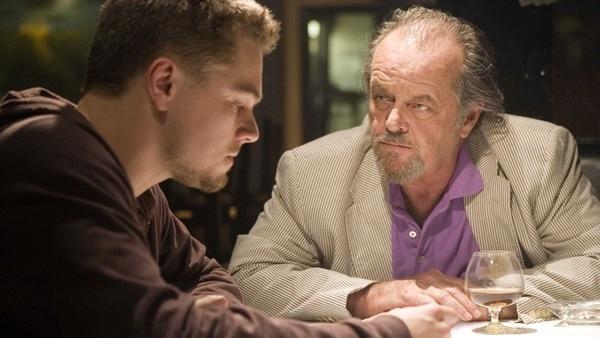 """Jack Nicholson en """"Los Infiltrados"""""""