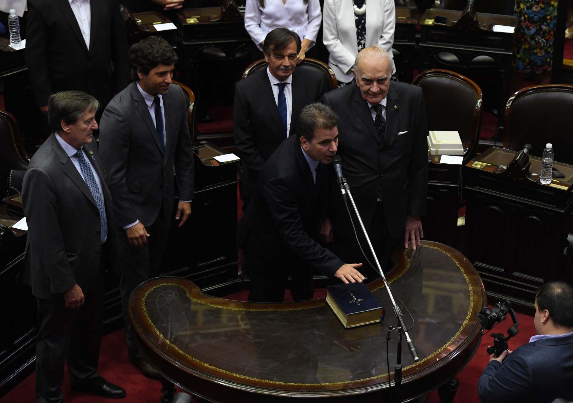 Cristian Ritondo jura como diputado nacional. Será el presidente del bloque del PRO