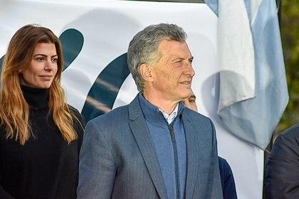 El Presidente en campaña Foto: Horacio Culaciatti (Télam)