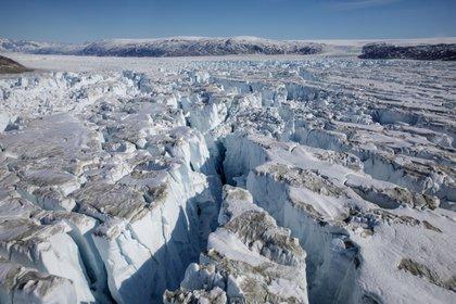 El glaciar Helheim cerca de Tasiilaq (REUTERS/Lucas Jackson/archivo)
