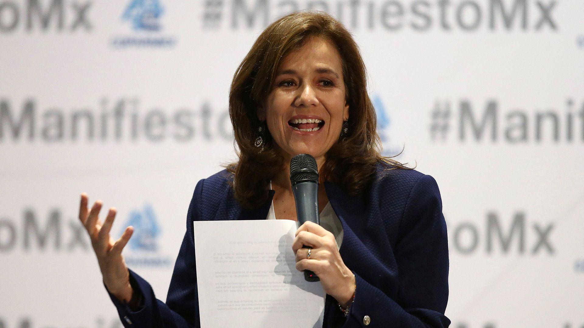 Margarita Zavala o pudo registrar su organización como partido político (Foto: Reuters /Edgard Garrido)