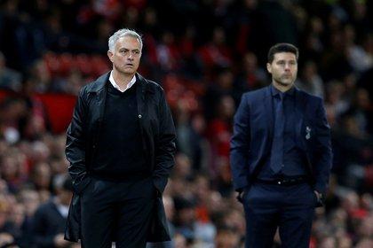 Jose Mourinho reemplazó a Pochettino en el banco de los Spurs (Reuters)