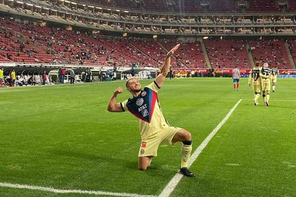 La última aparición de Henry Martin fue en el Clásico Nacional contra Chivas (Foto: Twitter/ @ClubAmerica)