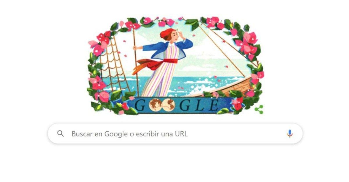 Google recuerda en su doodle el nacimiento de Jeanne Baret, la primera mujer en dar la vuelta al mundo - Infobae