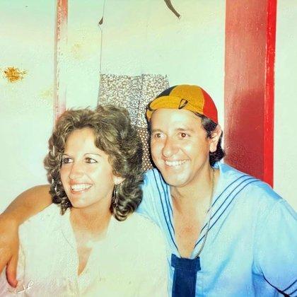 Juntos, desde hace más de cuatro décadas: Gache Rivera y Carlos Villagrán