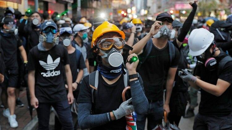 Los manifestantes pro democracia mantienen las protestas en Hong Kong