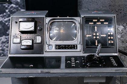 La consola del robot soviético Lunokhod 1
