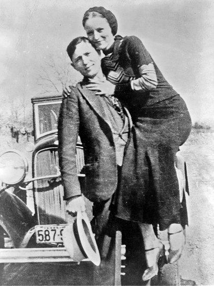 Los verdaderos Bonnie and Clyde