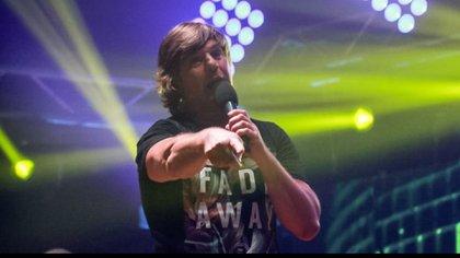 El Pájaro Gómez, vocalista de Vilma Palma e Vampiros
