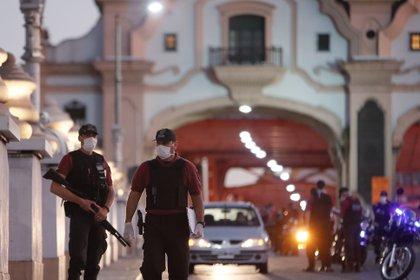 La policía controlará los accesos a la ciudad en Buenos Aires (EFE)