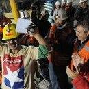 El presidente Piñera supervisa el rescate en persona en la mina de San José (Min Minería de Chile)