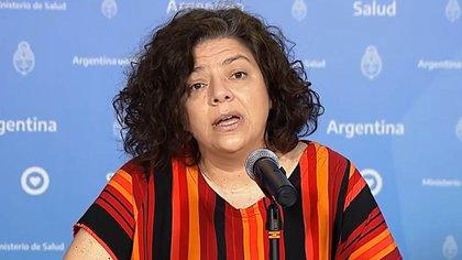 La Viceministra de Salud Carla Vizzoti advierte que el Coronavirus se extendió por las provincias.