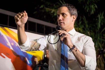 Juan Guaidó, presidente interino de Venezuela (EFE/Miguel Gutiérrez)