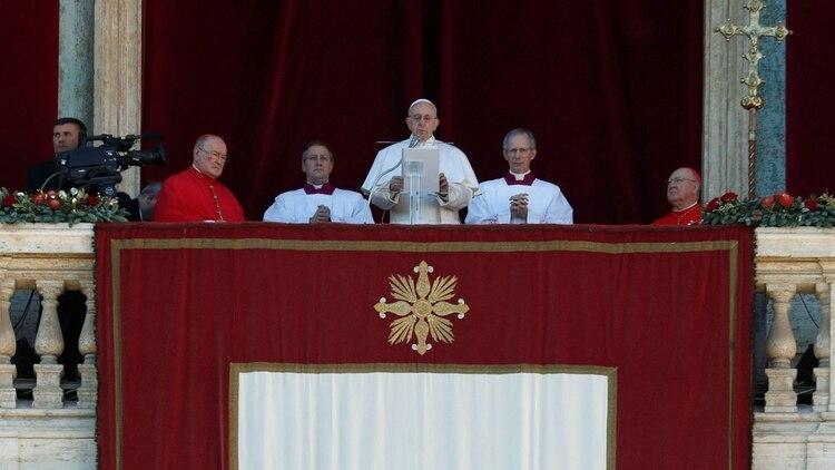 """El papa Francisco pidió """"que este tiempo de bendición le permita a Venezuela encontrar la concordia"""""""